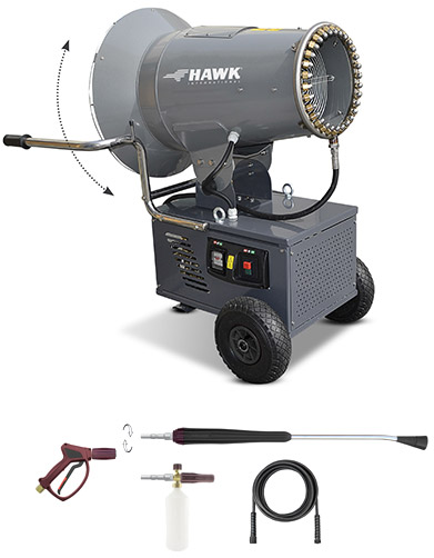 HAWK Disinfection Fog Cannon + HP Washer