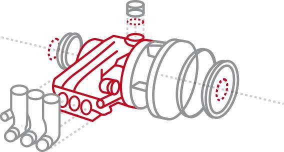 Spare parts for industrial piston pumps | HAWK Pumps